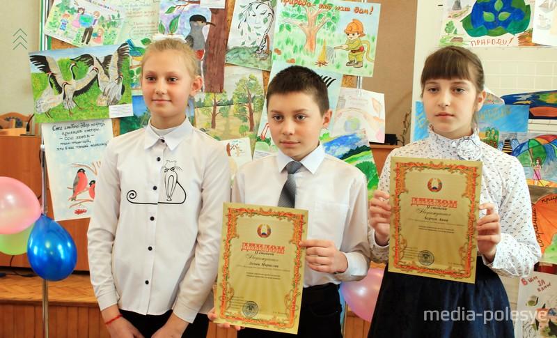 Учащиеся Валищенской СШ, дипломанты и участники конкурса