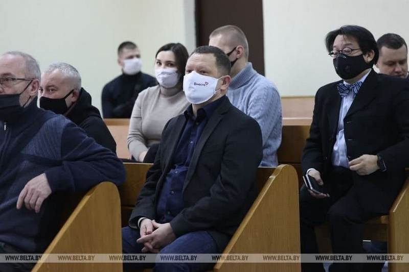 Максим Богрецов смог попасть на первое заседание / Фото: belta.by