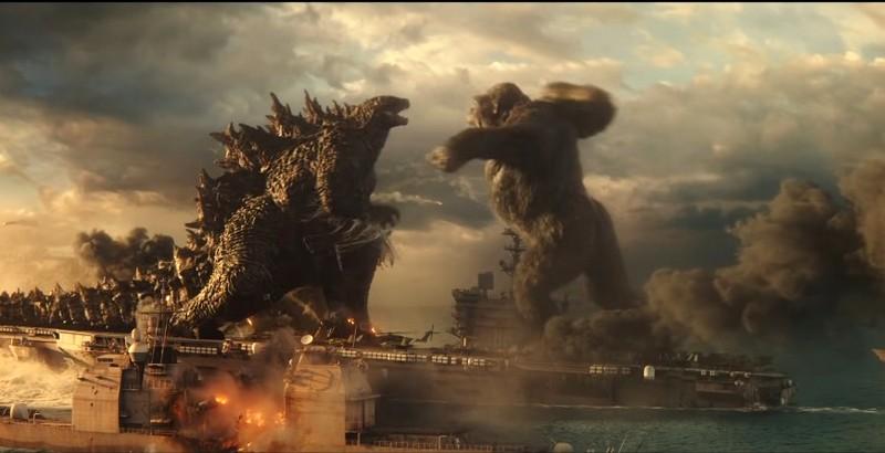 Скригшот из трейлера к фильму «Годзилла против Конга»