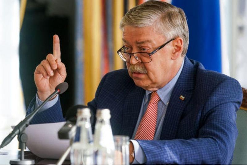 Вероятный новый посол России в Беларуси Евгений Лукьянов. Фото с сайта baltnews.com