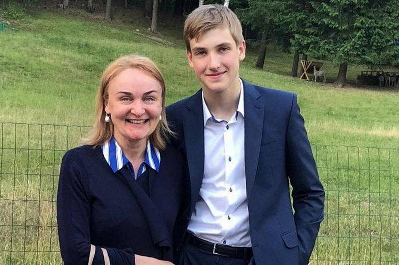 Ирина Абельская и Николай Лукашенко. Фото: @cpartisans_dumps