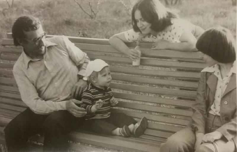 Фото изличного архива Нины Багинской