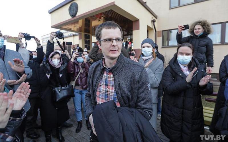 Артем Сорокин после оглашения приговора. 2 марта, Минск. Фото: TUT.BY