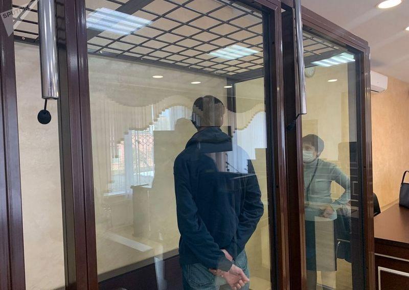 Подсудимый в зале перед началом суда. Фото © Sputnik / Инна Гришук