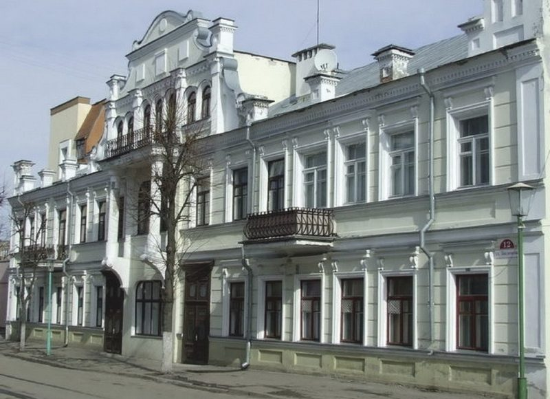 Пинский филиал Азовско-Донского коммерческого банка в наши дни. Фото с сайта belaruspartisan.by