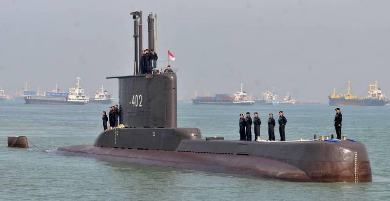 Подводная лодка KRI Nanggala 402 / Фото: © M Risyal Hidayat/Antara Foto/via REUTERS
