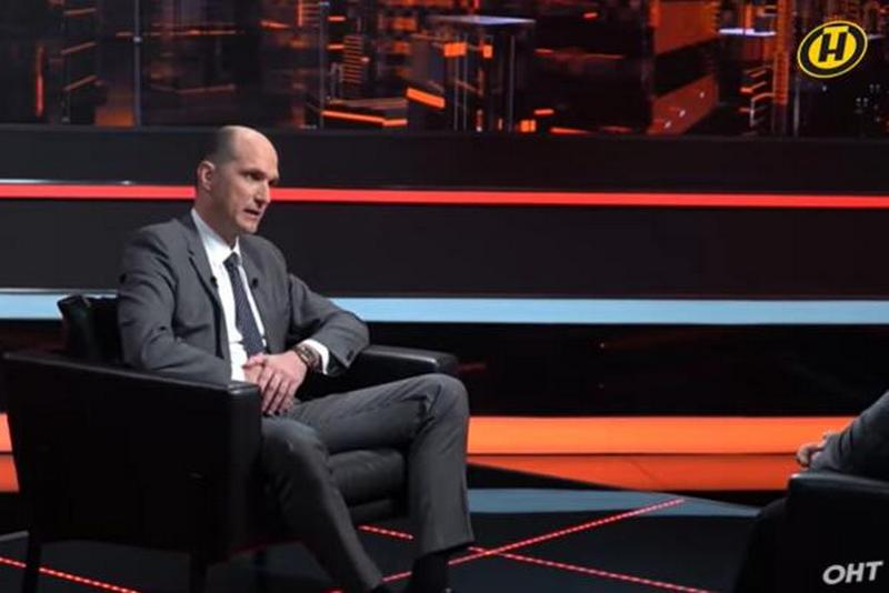 Андрей Ковалев. Скриншот телеканала ОНТ