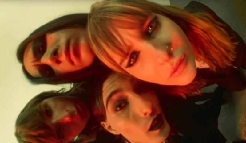 Скриншот с видео рок-группы Måneskin