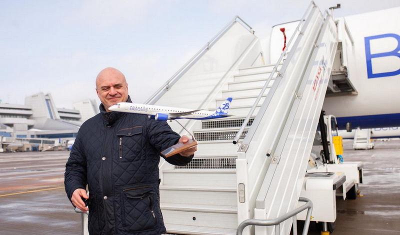 Гендиректор авиакомпании «Белавиа» Игорь Чергинец / Фото: facebook.com/belavia