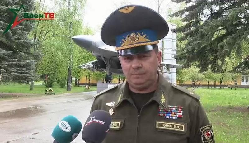 Вомандующий ВВС и войсками ПВО Игорь Голуб / Скриншот из видео