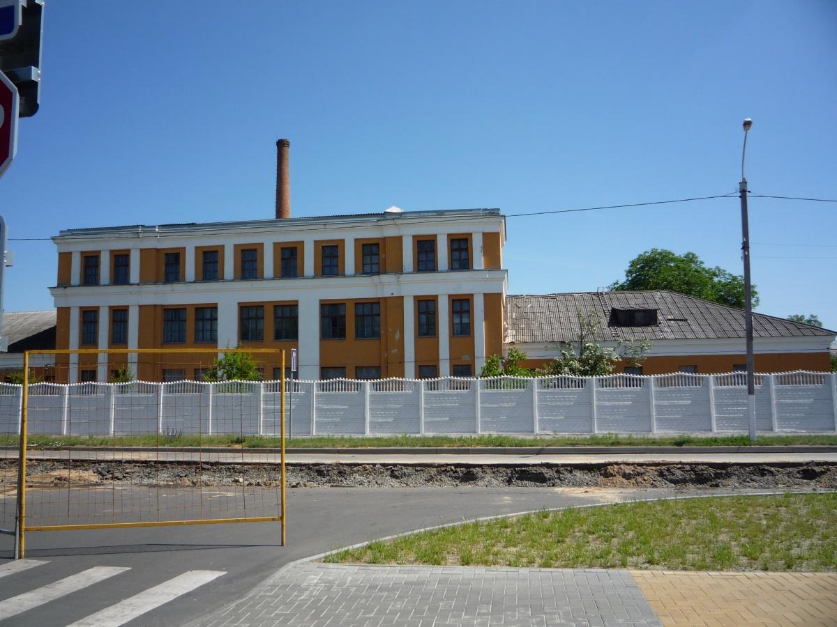 Так в прежние времена выглядело здание/ Фото: realbrest.by