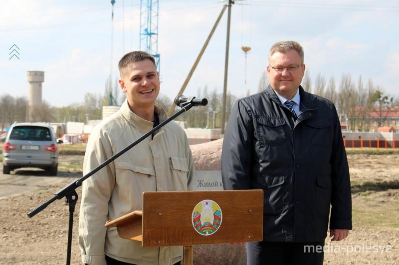 Игорь Брилевич и Дмитрий Бохон (слева)