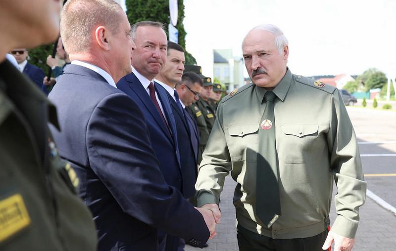 Встреча по вопросам территориальной обороны в Шклове Фото: president.gov.by