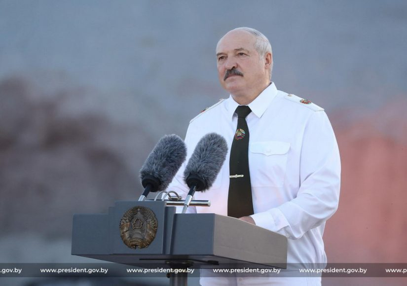Александр Лукашенко в Брестской крепости / Фото: president.gov.by