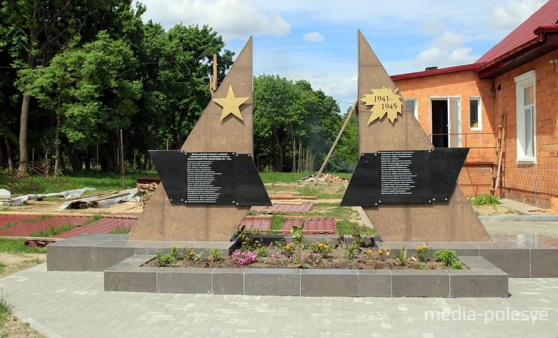 Новый памятник погибшим землякам