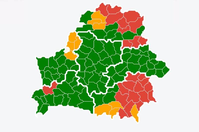 Карта ограничений с сайта mlh.by