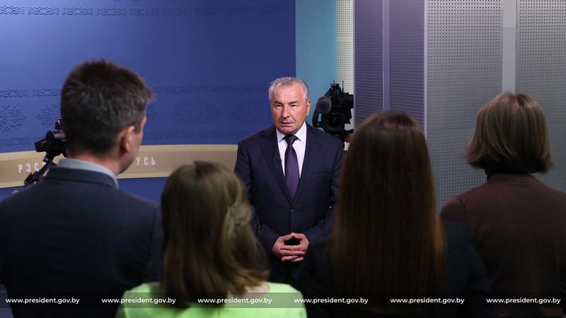 Петр Миклашевич / Фото: president.gov.by