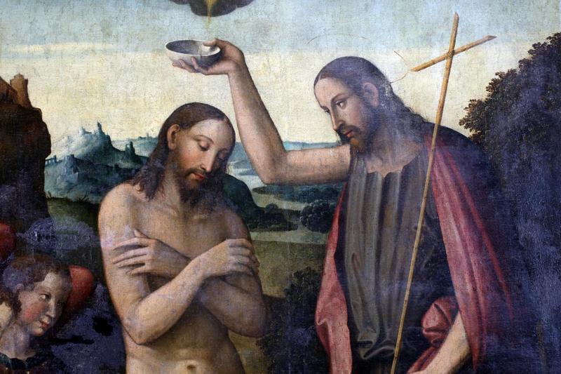 Иоанн Предтеча крестит Иисуса Христа / Фото: ru.depositphotos.com