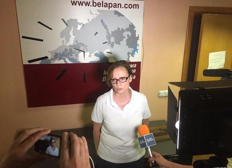Ирина Левшина, главный редактор БелаПАН.