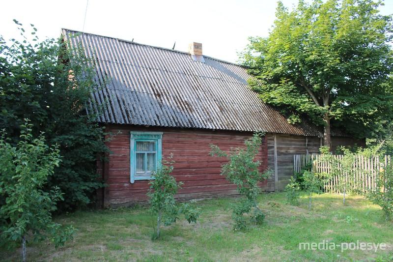 Дом в деревне Тепенец, в котором родилась Валентина Локун