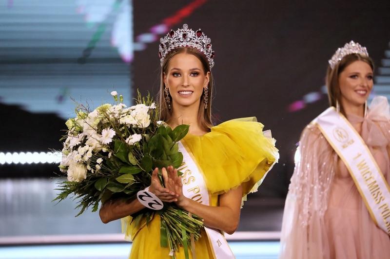 Мисс Польша 2021 Агата Вдовяк. Фото: PAP/Grzegorz Momot