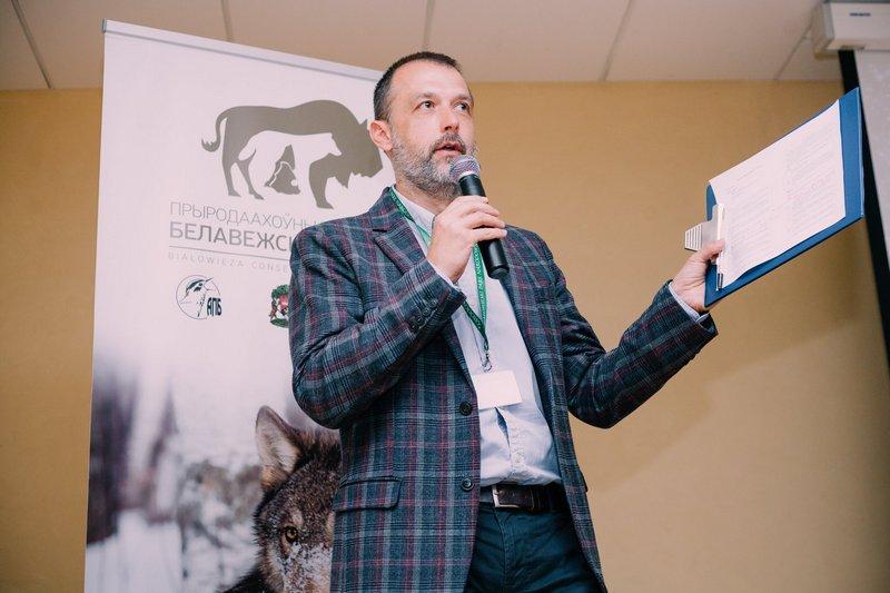 Виктор Фенчук. Фото: facebook.com/APB.BirdLife.Belarus